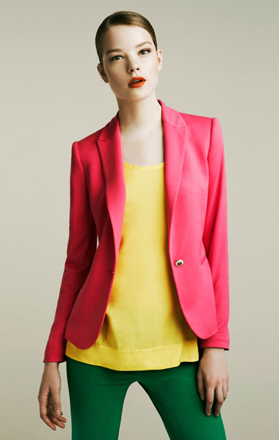 Zara lookbook za april