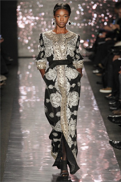 Naeem Khan, Fall 2012