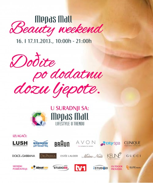 Mepas Mall Beauty weekend