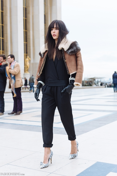 Paris Fashion Week – Street Style Look