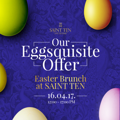 Easter brunch u Saint Ten hotelu