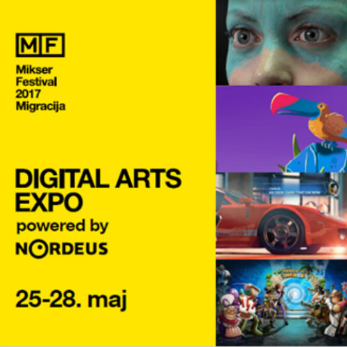 """Digital Arts Expo Powered By Nordeus"" na ovogodišnjem Mikser festivalu"