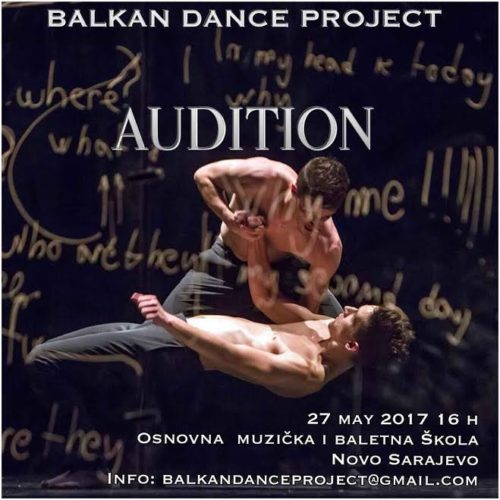 Audicija za Balkan dance project