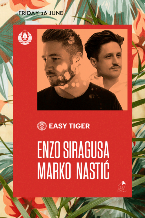 Marko Nastic_Easy Tiger presents Enzo Siragusa, Disco na splavu Sloboda