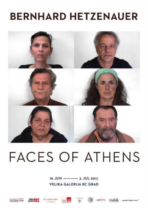"Izložba ""Faces of Athens"" u KC Grad"