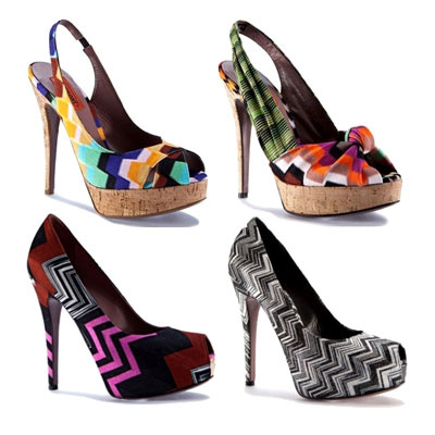 Missoni shoes proleće/leto 2011