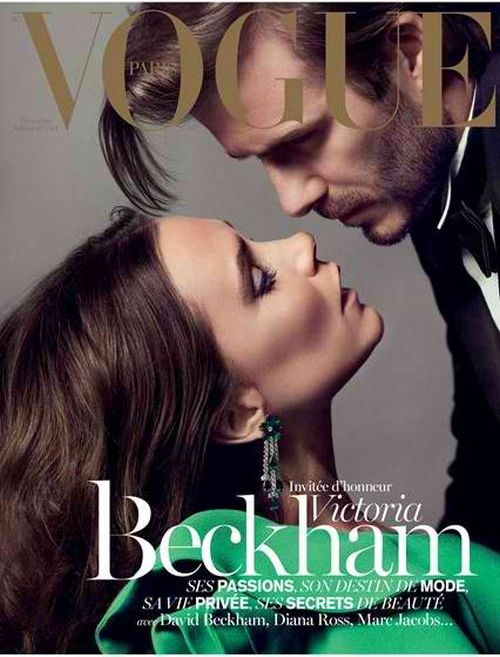 Victoria Beckham za Vogue Paris