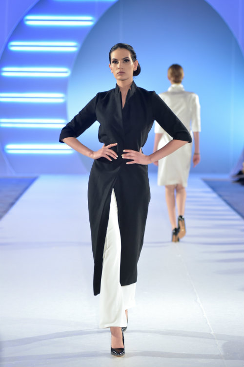 Drugi dan autorske mode na 39. Black'n'Easy Fashion Week-u