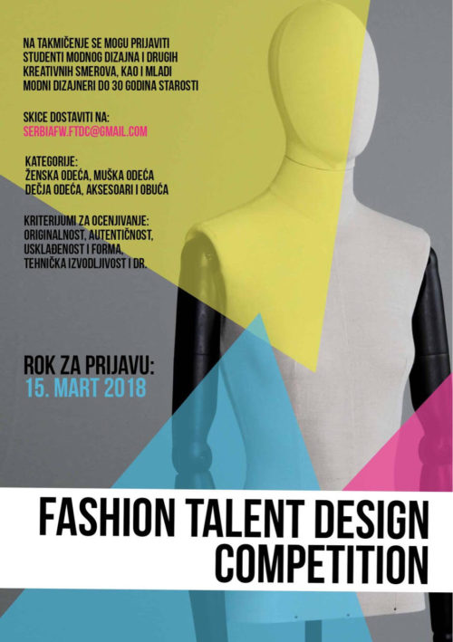 Fashion talent design competition