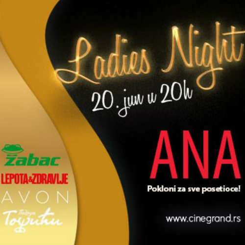 Ladies Night u bioskopu Cine Grand
