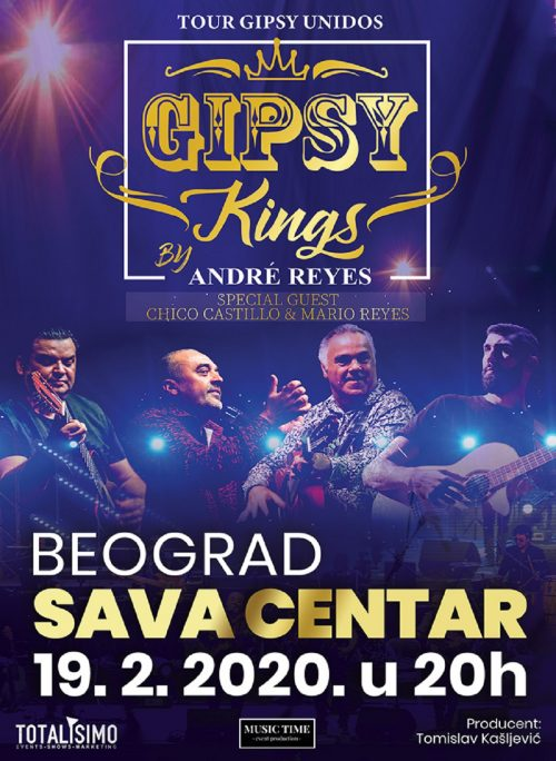 Gipsy Kings u Beogradu